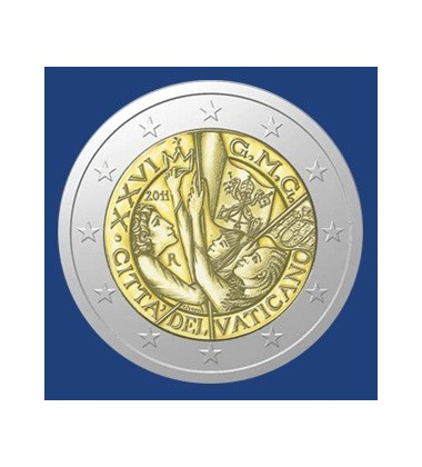 2011 Vatican - 2 Euro Commemorative Coin