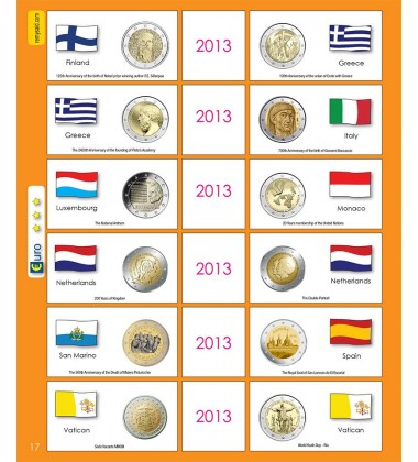 €2 Euro Commemorative Page 17