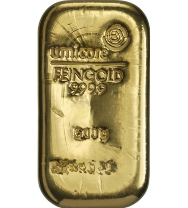 Gold Bullion 500Grams Umicore 9999 Fine
