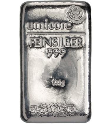 Silver Bullion 500Grams Umicore 999 Fine