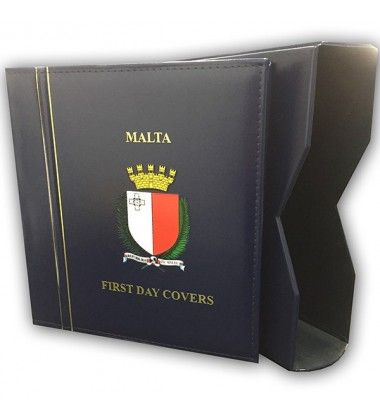 Malta First Day Cover Album - Maltapost Type