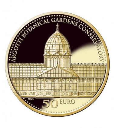 2017 Argotti Botanical Gardens Conservatory Gold Coin