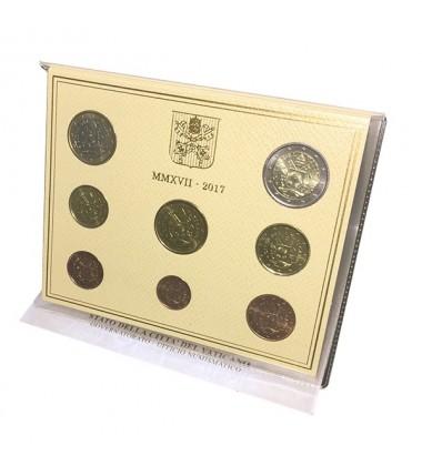 2017 Vatican Euro Coin Set of 8 Coins BU