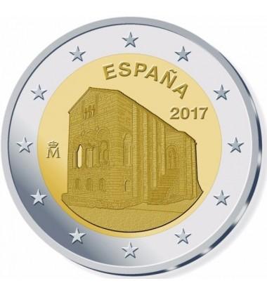 2017 Spain Asturias de Oviedo 2 Euro Commemorative Coin