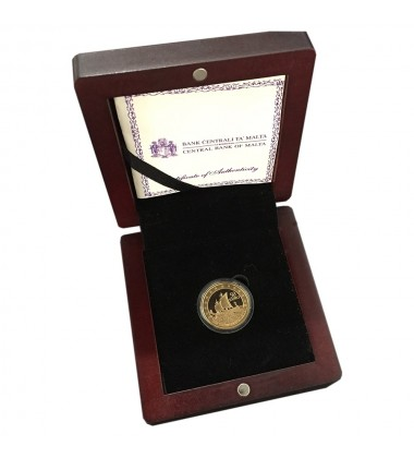 2011 Malta - €50 Phoenicians Commemorative Gold Coin - Proof