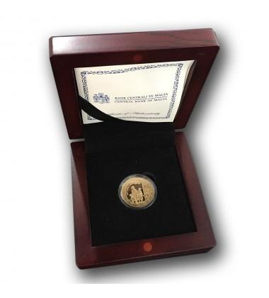 2012 Malta - €50 Antonio Sciortino  Commemorative Coin Gold - Proof