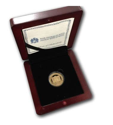 2009 Malta - €50 La Castellania Commemorative Gold Coin - Proof