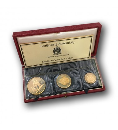 1977 Gold Coin  Set