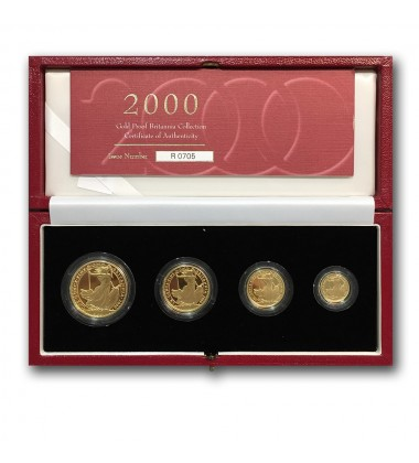 2000 Brittania Gold Coin Proof Collection