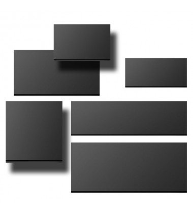 Black Strips Width 140mm x Height 150mm