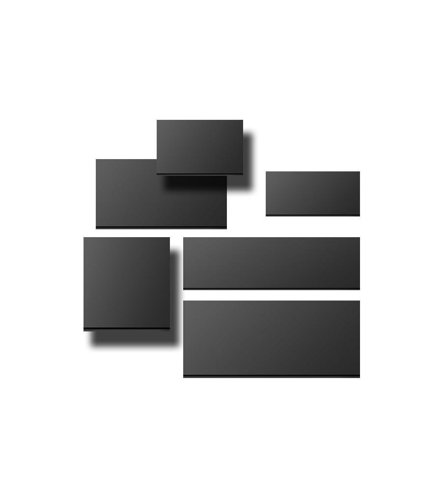 Black Strips Width 210mm x Height 70mm