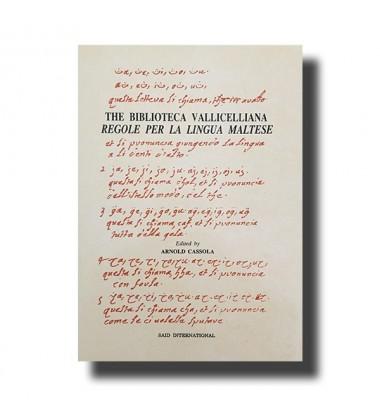Regole Per La Lingua Maltese - The Biblioteca Vallicelliana - Malta Book