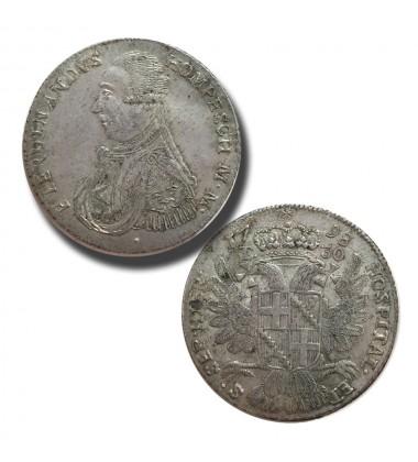 1798 Hompesch 30 Tari Pellet Below Bust - Knights of Malta Silver Coin
