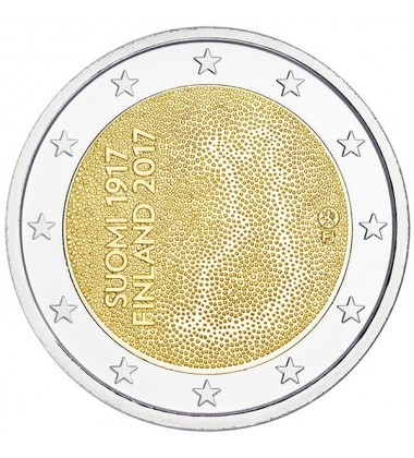2017 Finland 100 Years of Independence 2 Euro Commemorative Coin