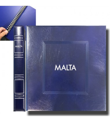 SAID Malta Supplement Pages Blue Album Cover & Case