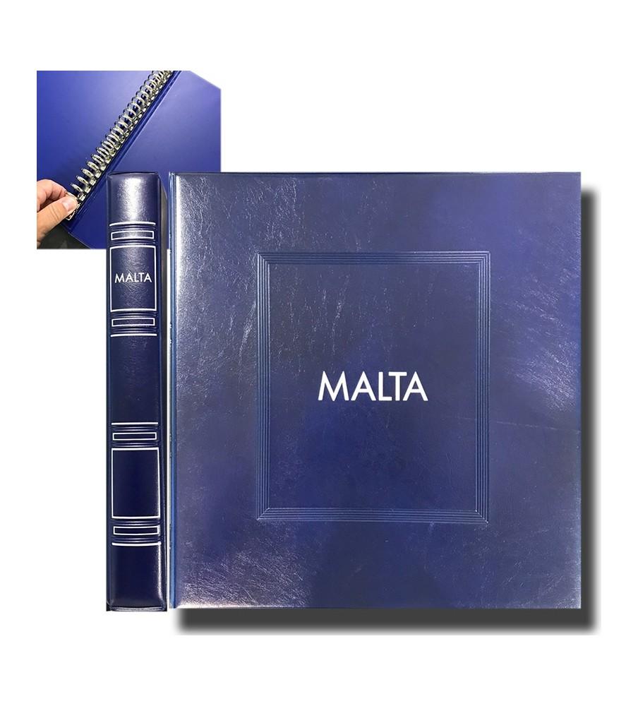 SAID Malta Supplement Pages Blue Album Cover & Case