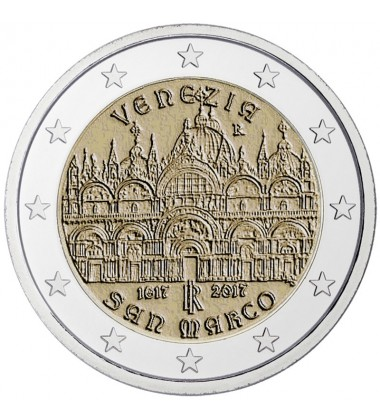 2017 Italy Venice 2 Euro Commemorative Coin