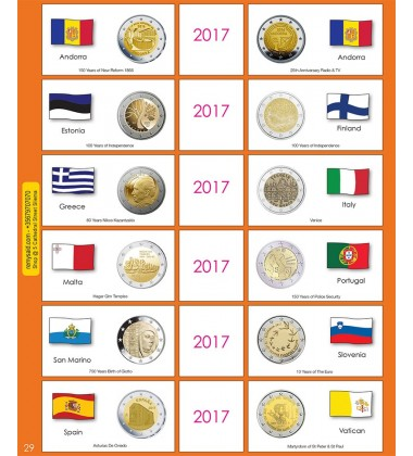 €2 Euro Commemorative Page 29