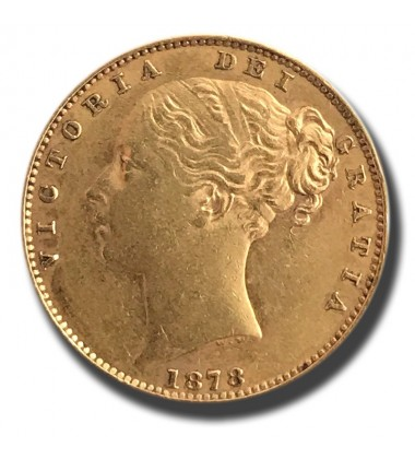 1878 British Full Sovereign Victoria 'S' Sydney Gold Coin