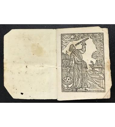 1827 Lunar Calendar Almanac Firenze