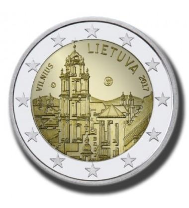 2017 Lithuania Vilnius 2 Euro Commemorative Coin