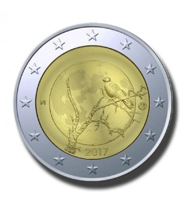 2017 Finland Nature 2 Euro Commemorative Coin