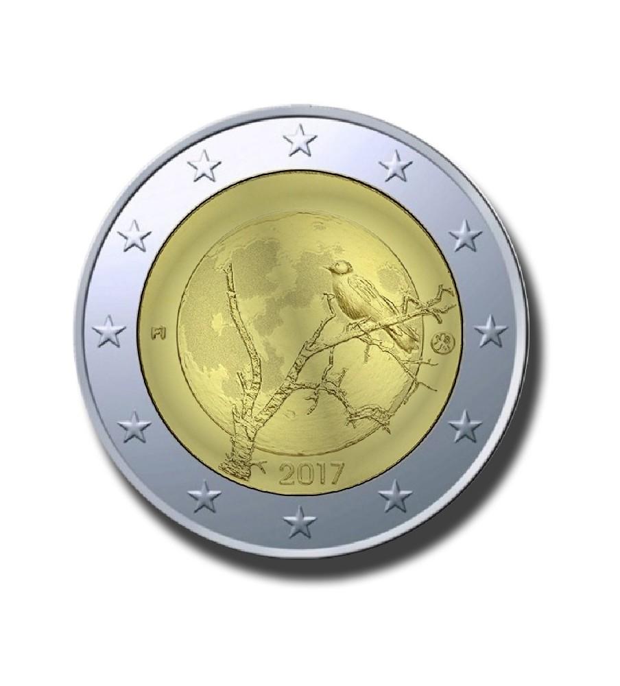 2017 Finland Nature 2 Euro Commemorative Coin