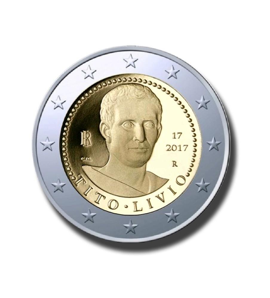 2017 Italy Tito Livio 2 Euro Commemorative Coin