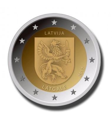 2017 Latvia Latgale 2 Euro Commemorative Coin
