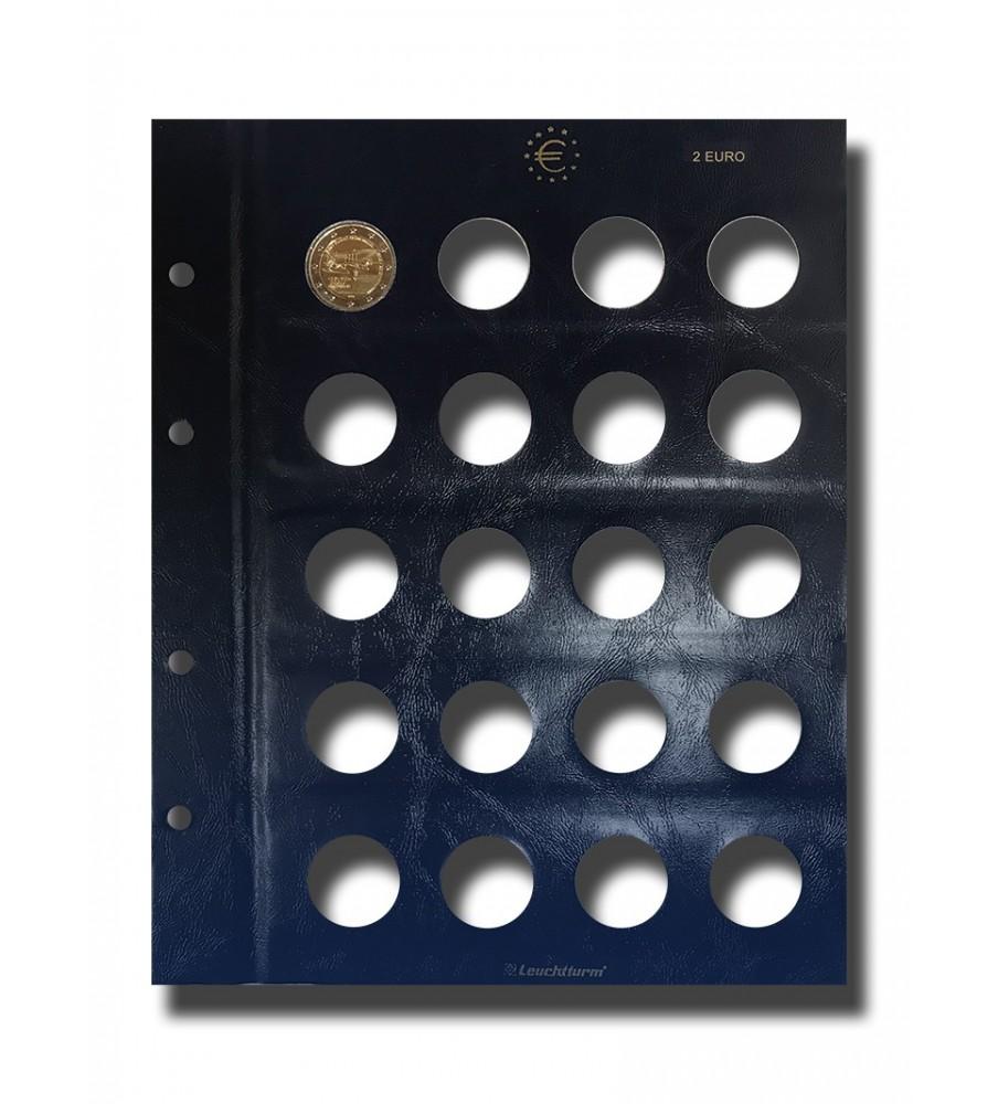 Lighthouse Leuchtturm Coin Pages (x2)