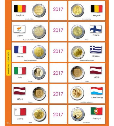 €2 Euro Commemorative Page 30