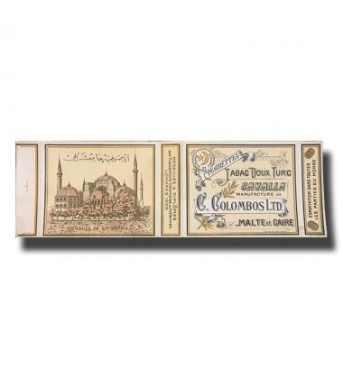 Cavalla C. Colombos Ltd. Malta & Cairo Turkish Cigarettes 81 x 68 x 12mm