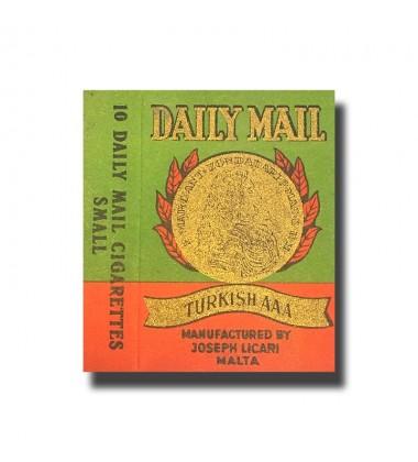 Daily Mail Joseph Licari, Malta Turkish AAA Cigarettes 70 x 48 x 16mm