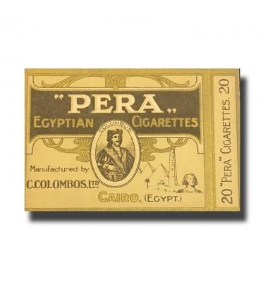 Pera C. Colombos Ltd. Cairo Egyptian Cigarettes 89 x 71 x 17mm (20 Cigarettes)