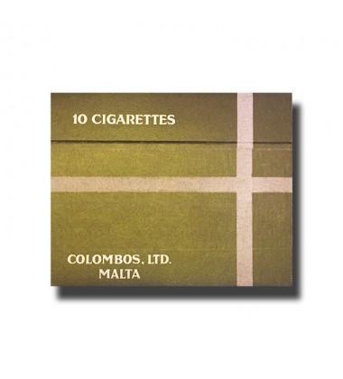 Princess C. Colombos Ltd. Malta De Luxe Virginia Cigarettes 75 x 46 x 17mm