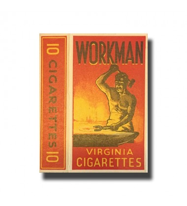 Workman Virginia Cigarettes 40 x 73 x 18mm
