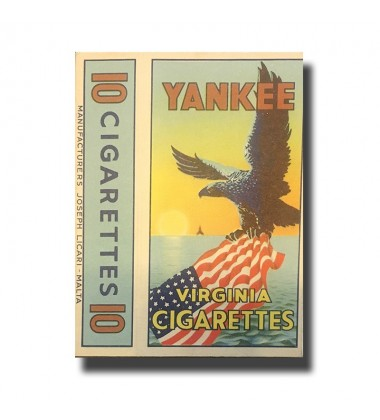 Yankee Joseph Licari, Malta Virginia Cigarettes 74 x 42 x 17 mm