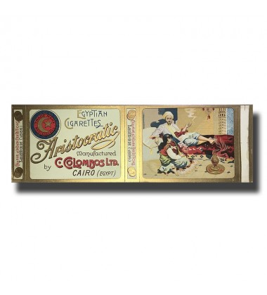 Aristocratic C. Colombos Ltd. Malta & Cairo Egyptian Cigarettes 100 x 78 x 17mm