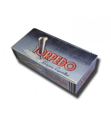 Torpedo Joseph Licari, Malta Virginia Cigarettes 160 x 73 x 38mm