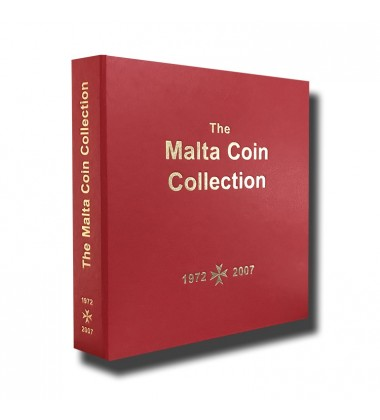 Malta Red Coin Album 1974 to 2007
