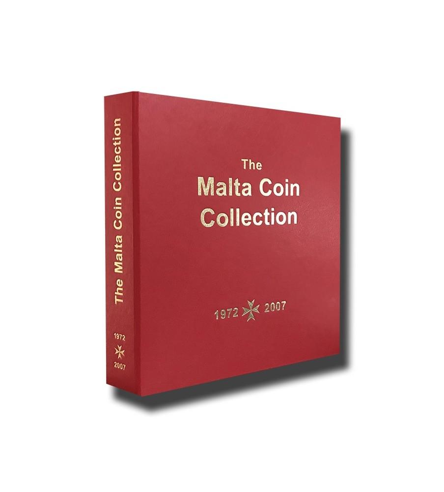Malta Red Coin Album 1974 to 2007