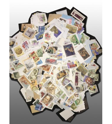 Malta Mixed Kiloware Stamps QEII Republic Independence Assorted Lot of 250 Grams
