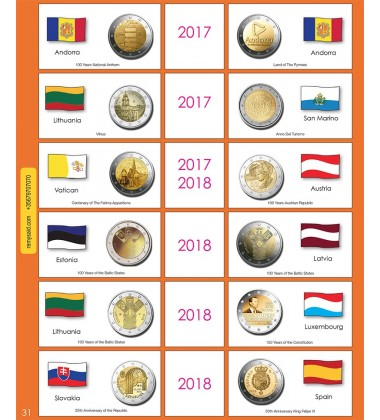 €2 Euro Commemorative Page 31
