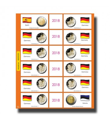 €2 Euro Commemorative Page 28