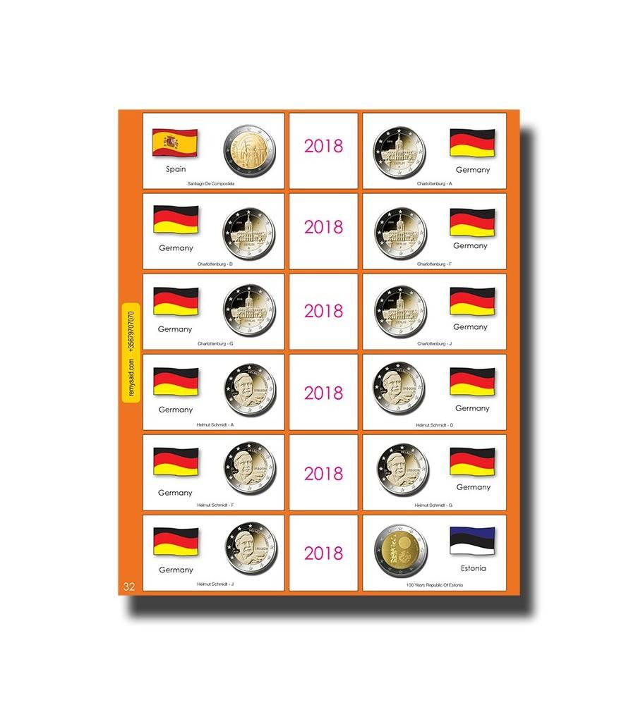 €2 Euro Commemorative Page 32