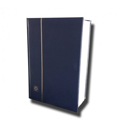 Stock Book Blue Colour Leuchtturm Lighthouse Ref 341309 White Page (32)