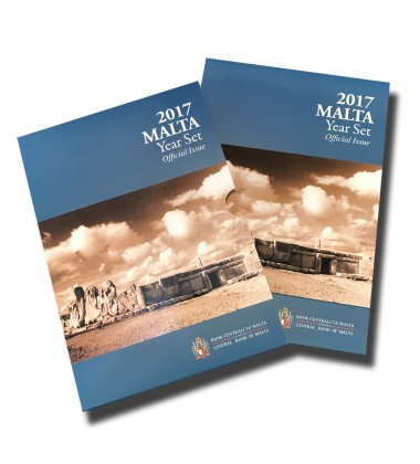 2017 Malta Coin Set F Mint Mark Uncirculated
