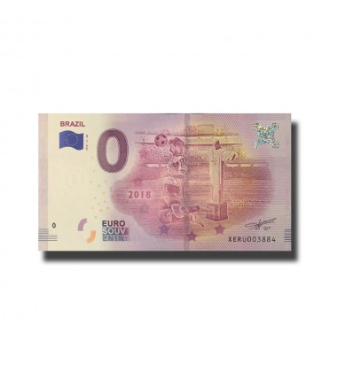 WORLD CUP 2018 BRAZIL 0 EURO BANKNOTE
