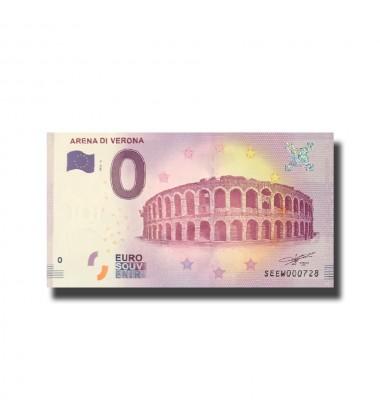 Italy Arena Di Verona 0 Euro Banknote Uncirculated 004536
