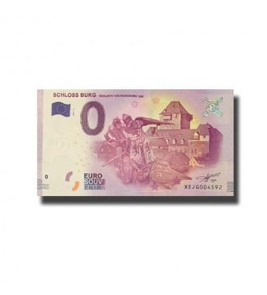 Germany Schloss Burg (Schlacht Von Worringen) 0 Euro Banknote Uncirculated 004552